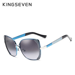 Butterfly Sun Glasses - Blue | HERS.BOUTIQUE
