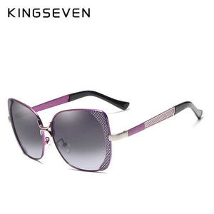 Butterfly Sun Glasses - Purple | HERS.BOUTIQUE