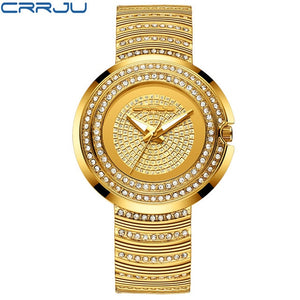 CRRJU Gold/Silver Watch - gold | HERS.BOUTIQUE