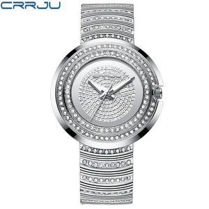 CRRJU Gold/Silver Watch - silver | HERS.BOUTIQUE
