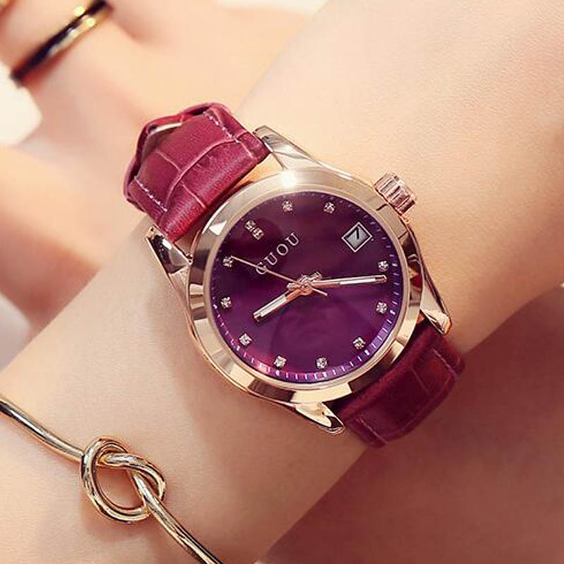 Guou Leather Strap -  | HERS.BOUTIQUE