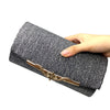 Sequined Evening Clutch -  | HERS.BOUTIQUE