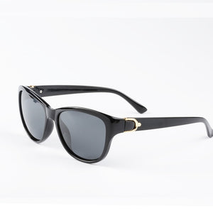 EyeCrafters Sunglasses - Bright Black | HERS.BOUTIQUE