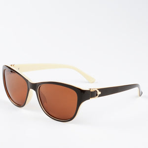 EyeCrafters Sunglasses - Brown Beige | HERS.BOUTIQUE