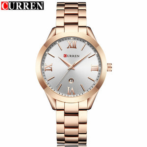 Curren Watches - rose white | HERS.BOUTIQUE
