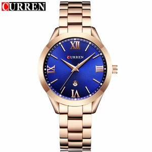 Curren Watches - rose blue | HERS.BOUTIQUE
