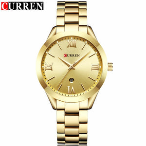Curren Watches - gold gold | HERS.BOUTIQUE