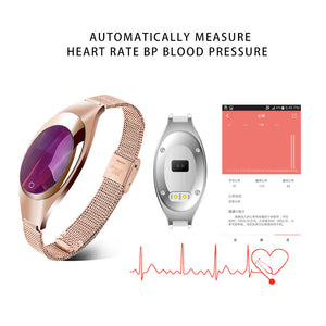 Rose Gold Smart Watch -  | HERS.BOUTIQUE
