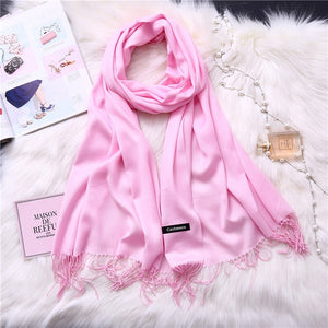 Pashmina Scarves - pink | HERS.BOUTIQUE
