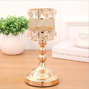 Elegant Gold Candle Holders - S / Gold | HERS.BOUTIQUE