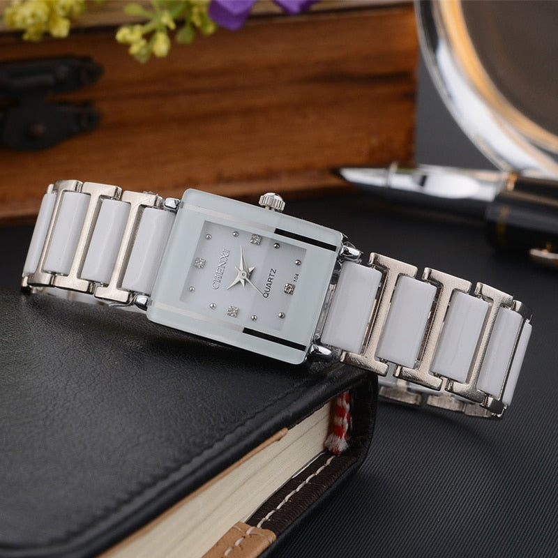 CHENXI Fashion Ceramic Wrist Watch -  | HERS.BOUTIQUE