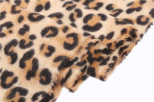 Leopard Print Scarf -  | HERS.BOUTIQUE