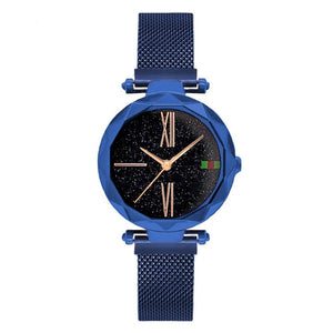 Luxury Rose Gold Women Watches - Blue | HERS.BOUTIQUE
