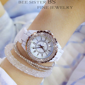 BS Bee Sister Fashion Watch - White | HERS.BOUTIQUE