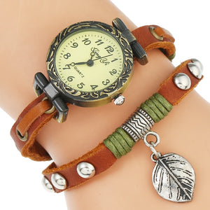 Ranch Style Watch - Brown | HERS.BOUTIQUE