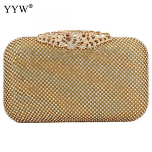 Jasmine Wedding Clutch - gold | HERS.BOUTIQUE