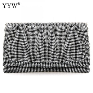 Yamika Evening Clutches - black | HERS.BOUTIQUE
