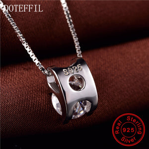 DOTEFFIL Sterling Silver Pendant -  | HERS.BOUTIQUE