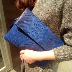 TopHigh Clutches - Blue / (20cm<Max Length<30cm) | HERS.BOUTIQUE