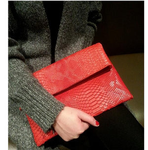 TopHigh Clutches - Red / (20cm<Max Length<30cm) | HERS.BOUTIQUE