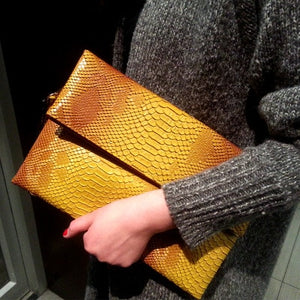 TopHigh Clutches - Yellow / (20cm<Max Length<30cm) | HERS.BOUTIQUE