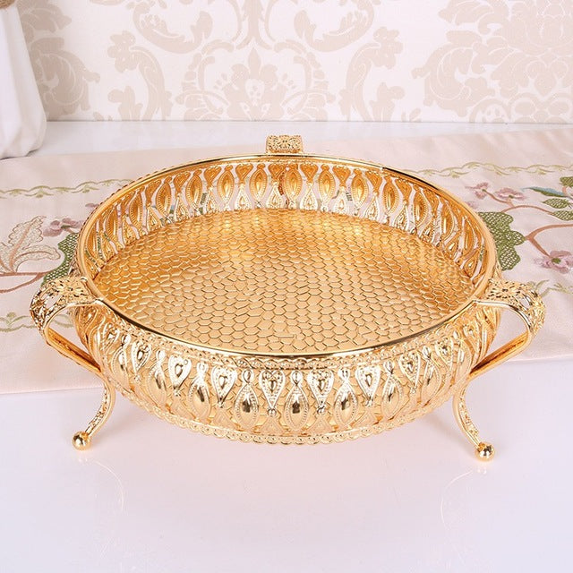 European Luxurious Trays - Gold 1 | HERS.BOUTIQUE