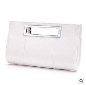 Elegant Clutch - white | HERS.BOUTIQUE