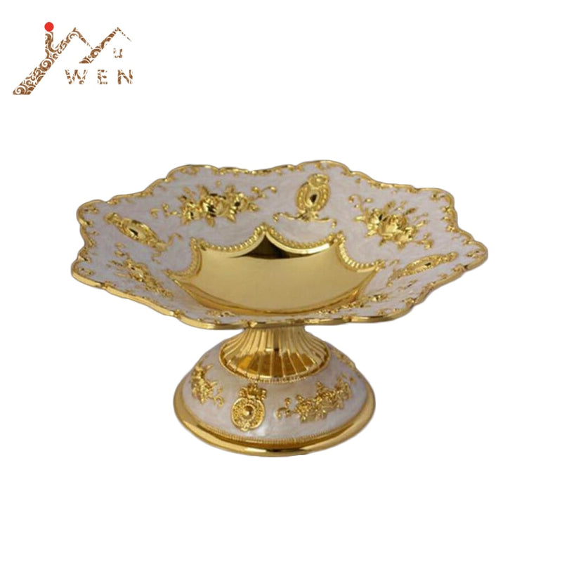 Decorative Serving Bowl - Golden | HERS.BOUTIQUE