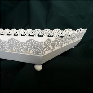 Rectangle Serving Tray - M / White | HERS.BOUTIQUE
