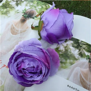 Artificial Rose Flower - Purple / M | HERS.BOUTIQUE