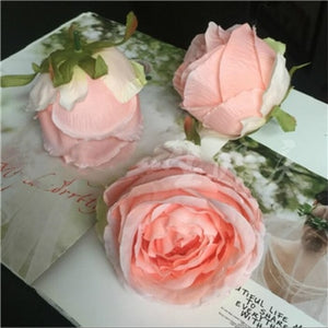 Artificial Rose Flower - Pink / M | HERS.BOUTIQUE