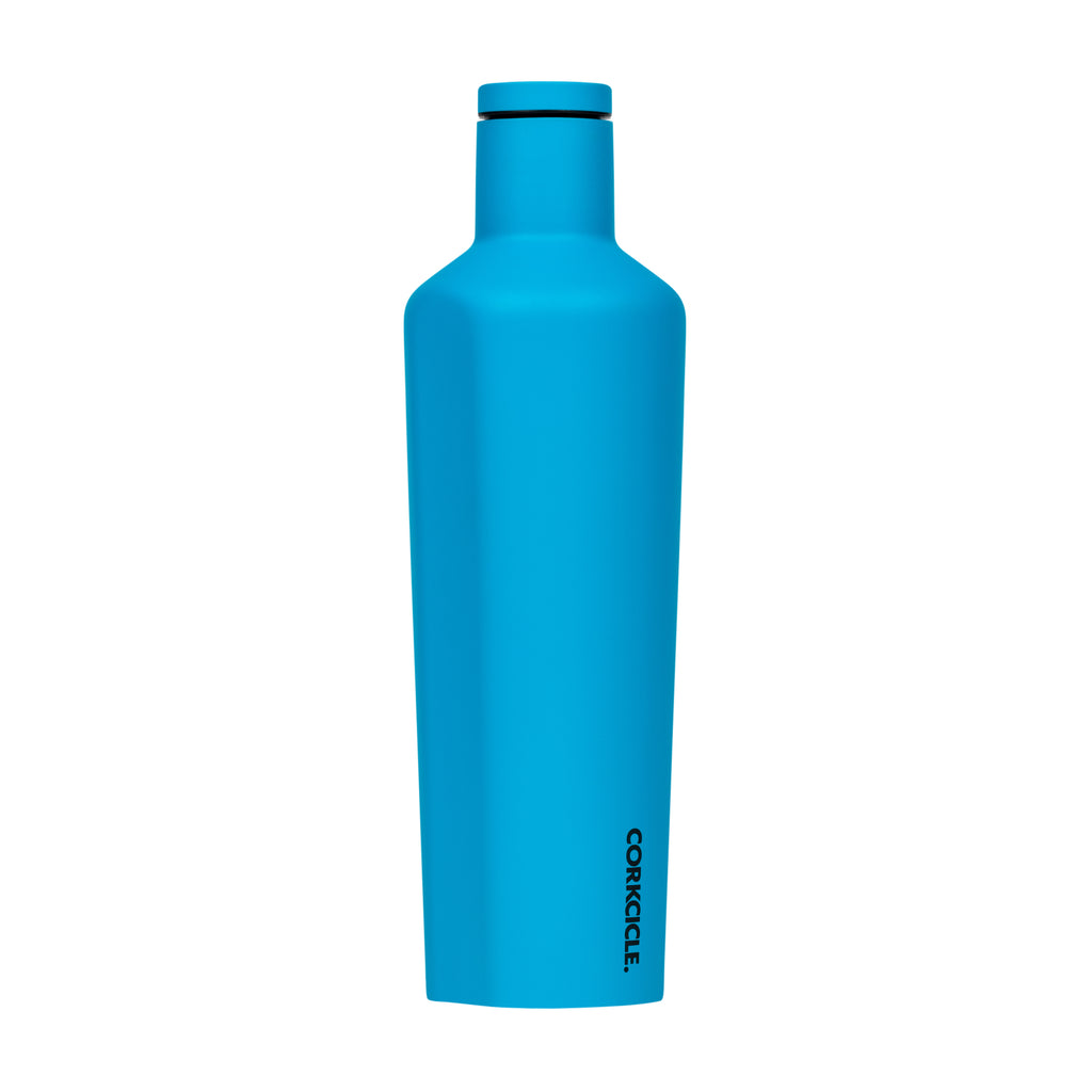 zCorkcicle 25 oz Canteen Neon Blue