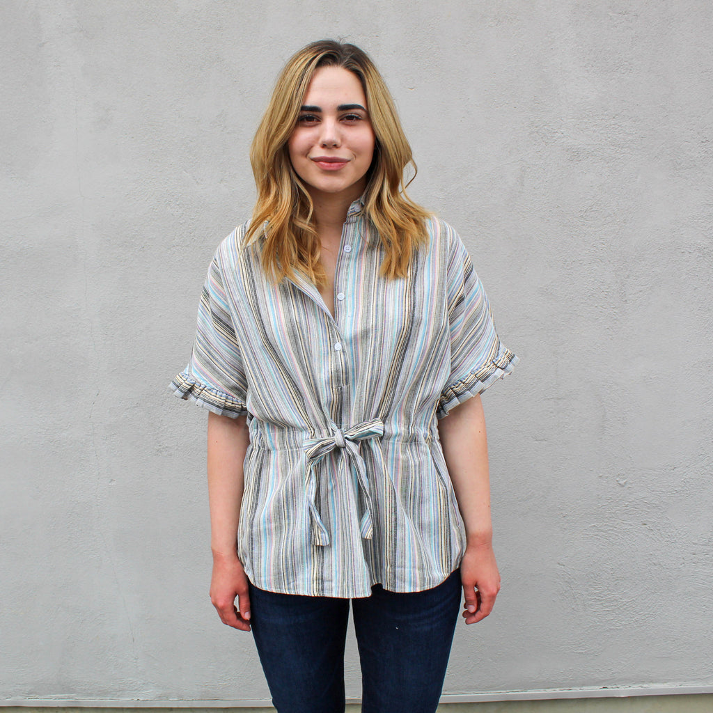 Bridget Tied Waist Blouse