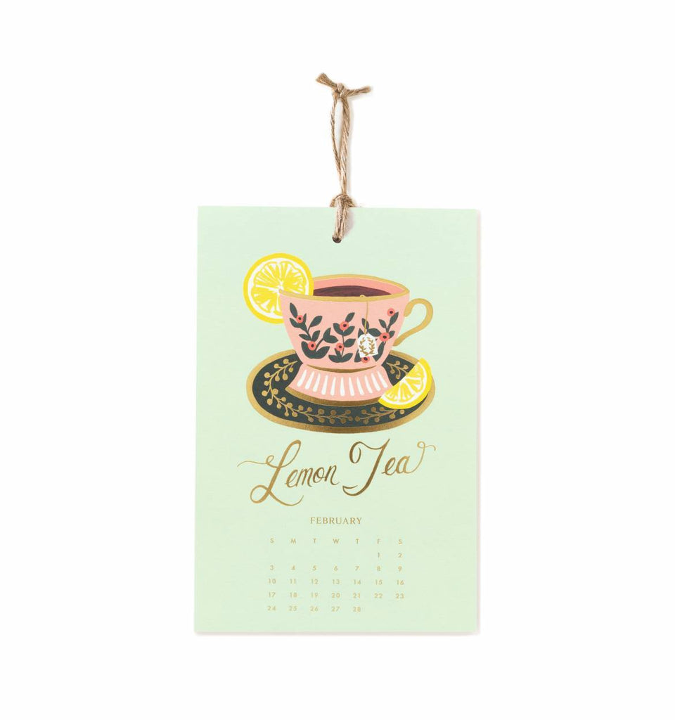 Rifle Paper Co. Lemon Wall Calendar