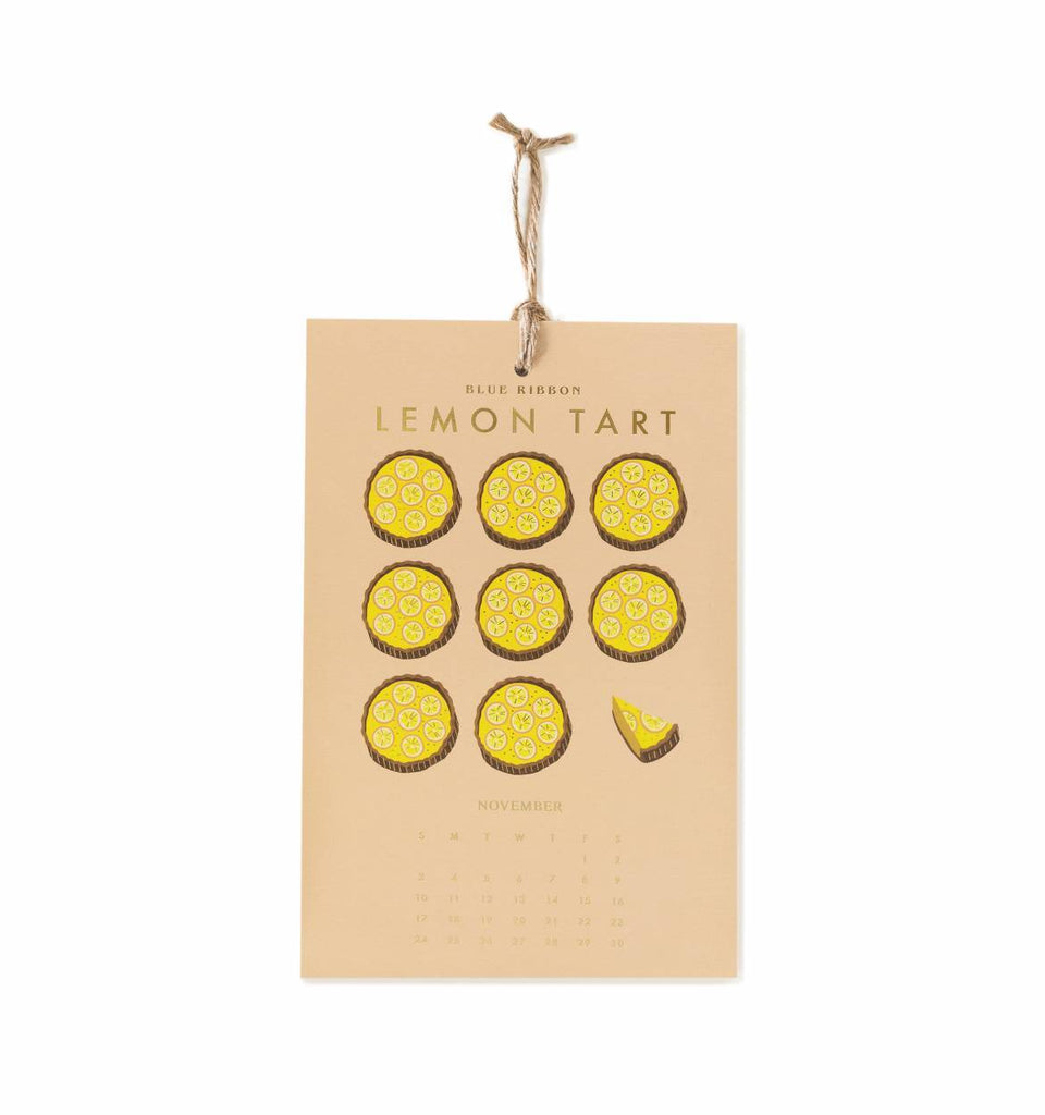 z Rifle Paper Co. Lemon Wall Calendar