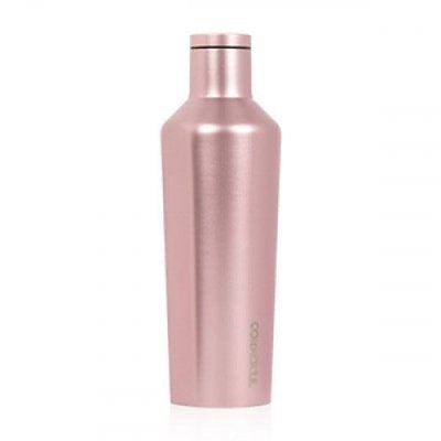 Corkcicle 16 oz Canteen Rose Metallic