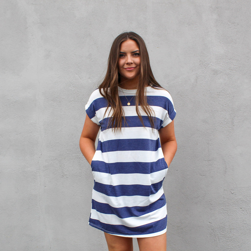 Sandy Relaxed T-Shirt Dress