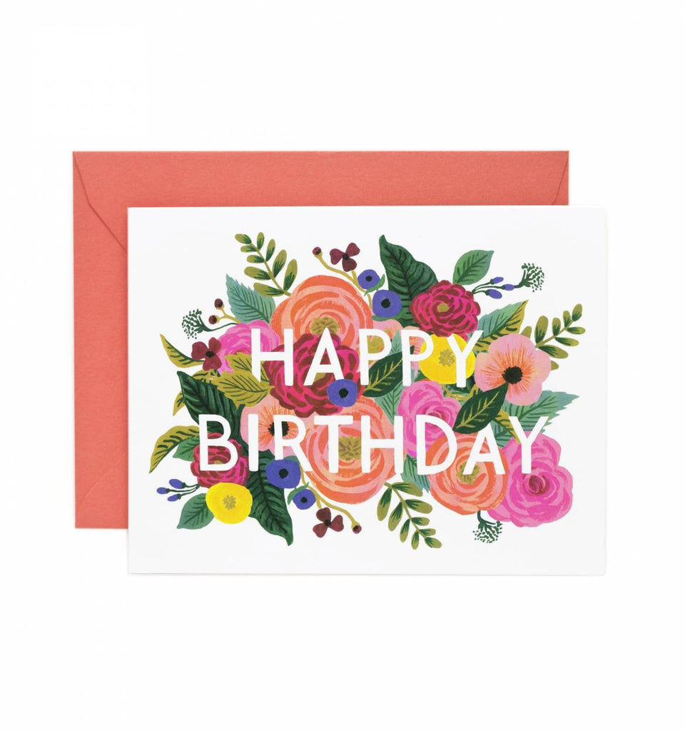 Rifle Paper Co. Juliet Rose Birthday Card