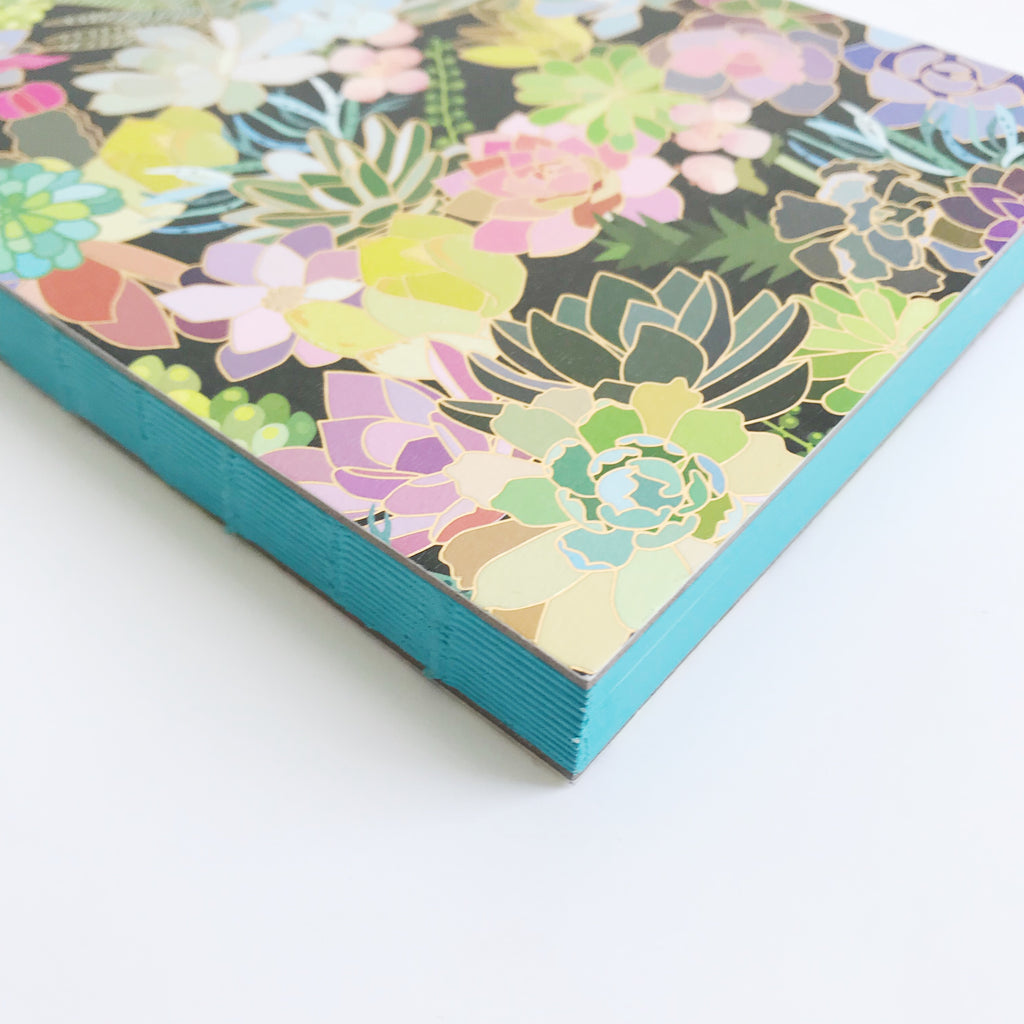 Succulent Paradise Bound Notebook