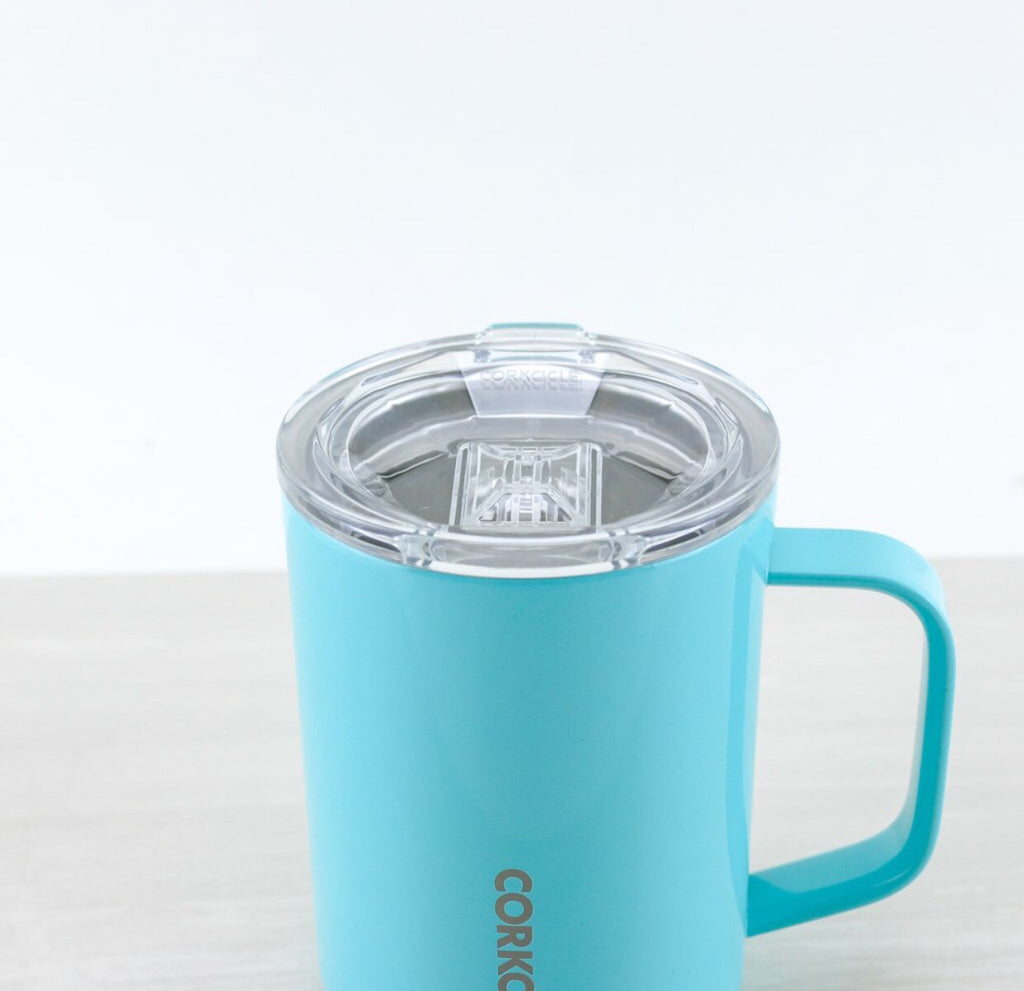 Corkcicle 16 oz. Mug in Turquoise