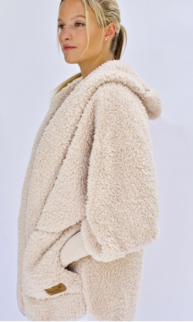 Nordic Beach Wrap in Frappe