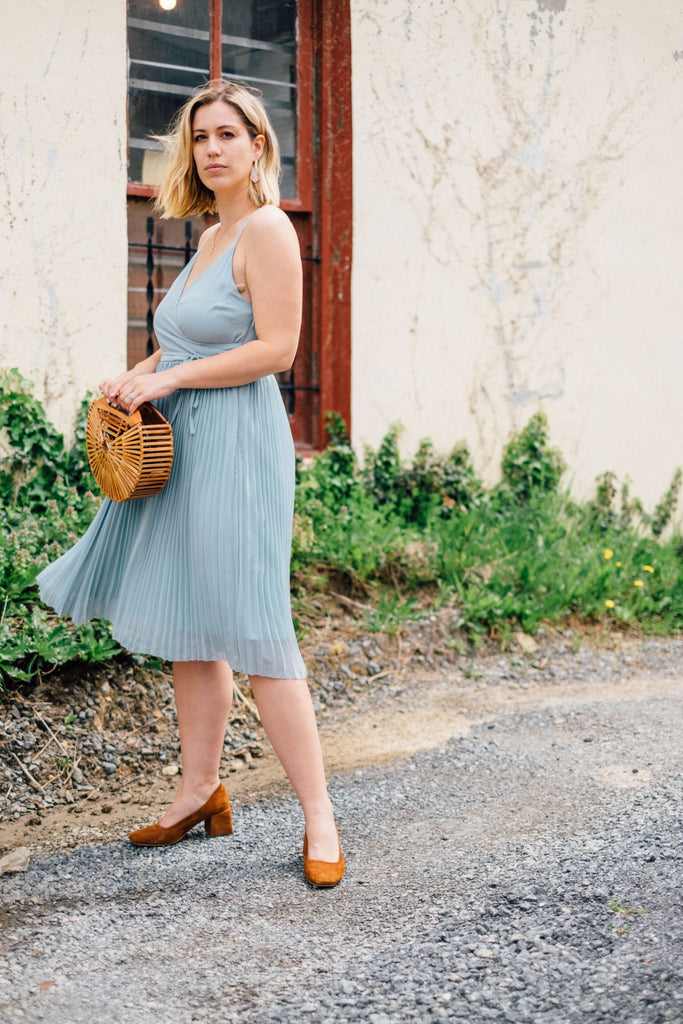 Mae Pleated Dress