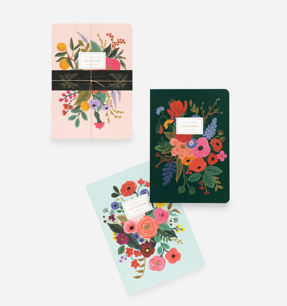 Rifle Paper Co. Garden Party Notebook 3 Pack
