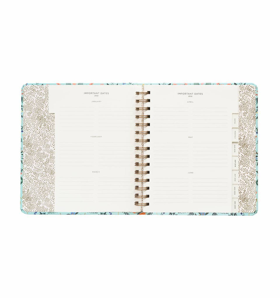 Rifle Paper Co. 2019 Wildwood 17-Month Planner