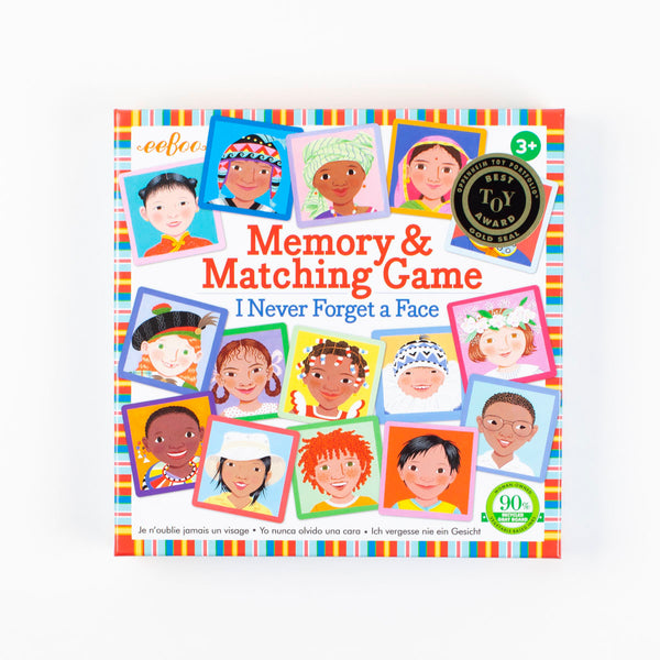 Faces Memory and Matching Game