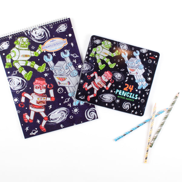 Robot Drawing Set
