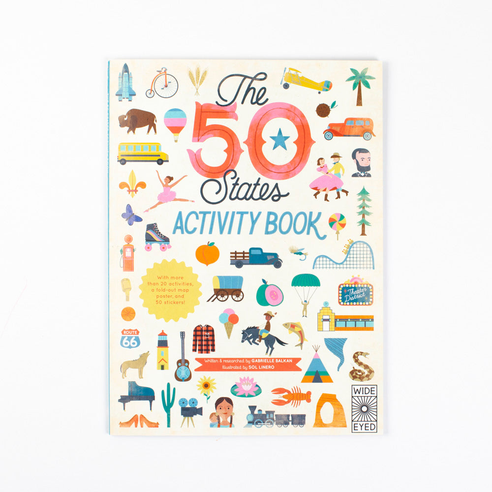 The Fifty States Activity Book