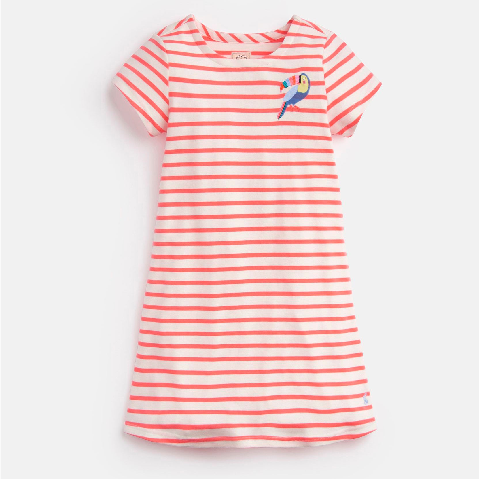 Toucan Stripe Dress