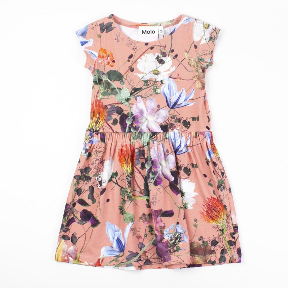 Pink Floral Day Dress