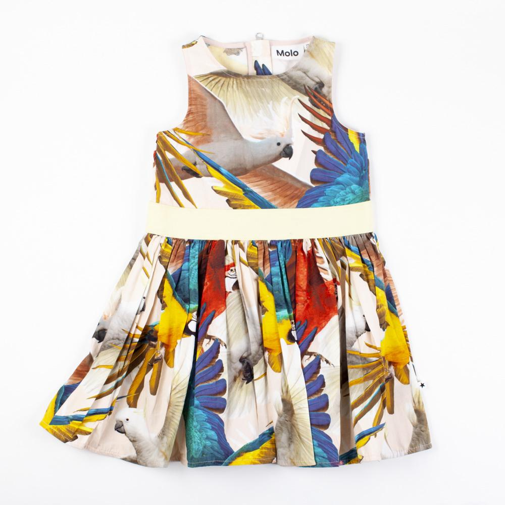 Tropical Parrot Dress
